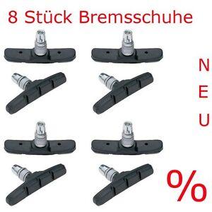 8 st ck fahrrad bremsschuhe 70mm bremsbel ge bremskl tze. Black Bedroom Furniture Sets. Home Design Ideas