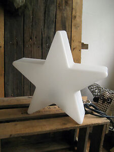8 seasons design shining star stern lampe stern 40 cm f r sternlampe weiss ebay. Black Bedroom Furniture Sets. Home Design Ideas