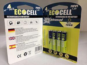 8-x-Aufladbare-Batterien-Akku-Accu-Batterie-EcoCell-1900-mAh-AAA-R03-1-2V-NI-MH