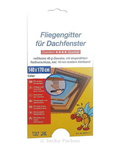 8-x-Dachfenster-Fliegengitter-WEIss-140-x-170-cm-MA1-Insektenschutz-Fliegen-Muecke