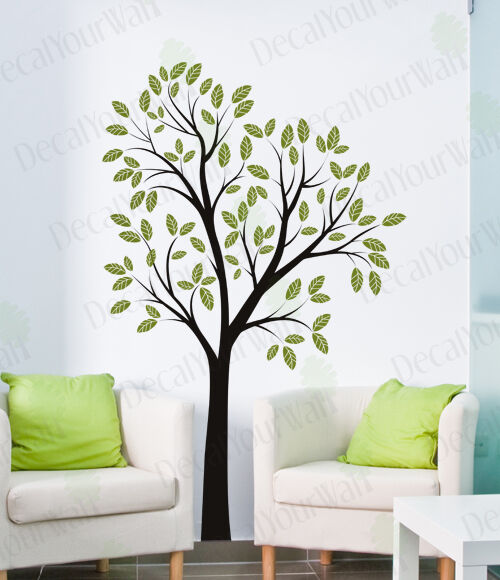 Removable Vinyl Wall Decor : Tree removable wall decal vinyl sticker decor modern