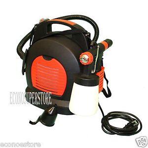 800w electric air compressor hvlp paint spray gun painter. Black Bedroom Furniture Sets. Home Design Ideas