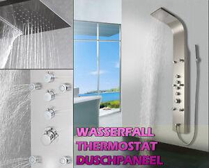 ... Duschpaneel, DUSCHSÄULE, Wasserfall, REGENDUSCHE,Thermostat eBay