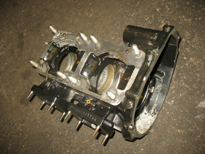 88 Kawasaki JS650SX JS650 SX JS 650 Engine Motor Cases
