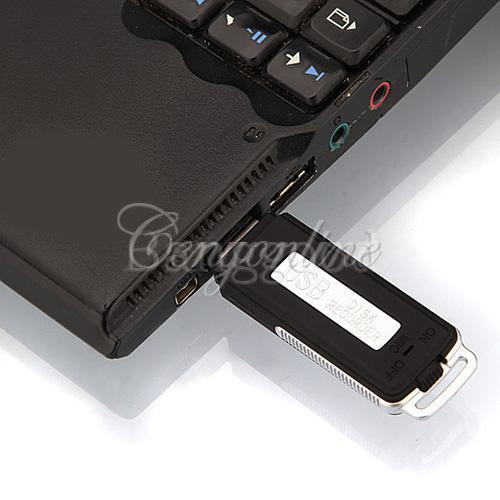 8GB 2in 1 USB Spy Digital Audio Voice Recorder Pen Disk Flash Drive Memory Stick