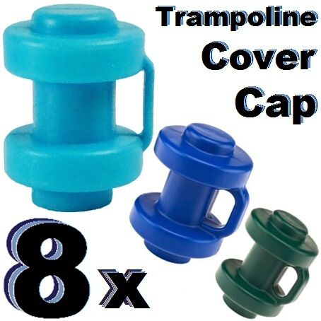 8x Spare Plastic Trampoline Safety Enclosure Net Tube