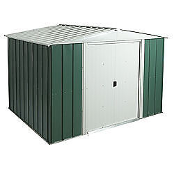 8x10 Metal Shed Riversshed