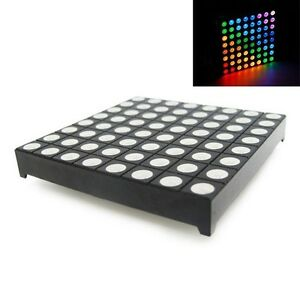 8x8-Matrix-RGB-LED-Common-Anode-Full-Colour-LED-60-60mm-Colorduino-Compatible