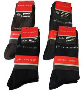 9-Paar-Pierre-Cardin-Socken-Herrensocken-Herren-Struempfe-Business-Socken