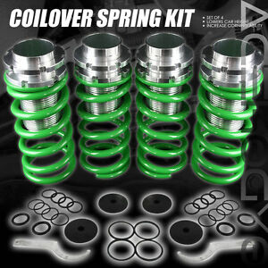 Acura Integra on 90 01 Acura Integra 88 00 Civic Green Coilover Spring Lowering Height