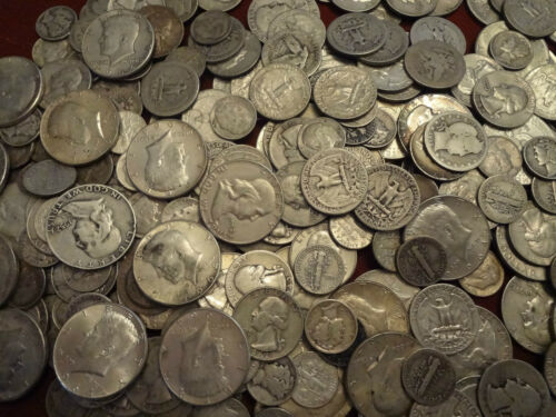 90% Junk Silver US Coins lot of 1/2 oz. Pre 1965 Coins standard wt not troy in Coins & Paper Money, Coins: US, Collections, Lots | eBay