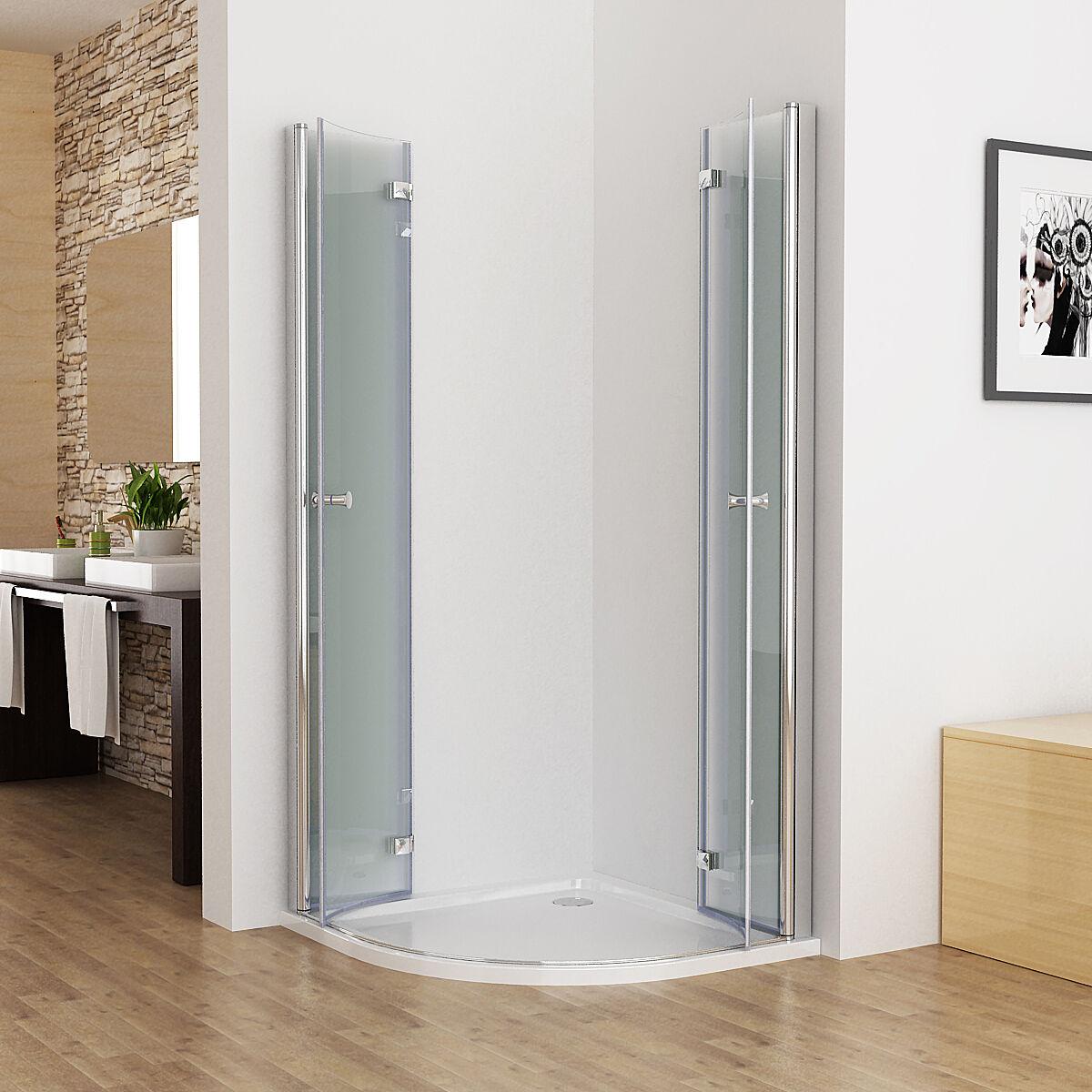 duschkabine runddusche duschabtrennung echtglas. Black Bedroom Furniture Sets. Home Design Ideas