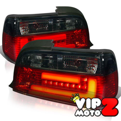 "92-98 BMW E36 2DR Coupe ""EURO LED"" Smoked Brake Signal Reverse Tail Light Lamp in eBay Motors, Parts & Accessories, Car & Truck Parts 