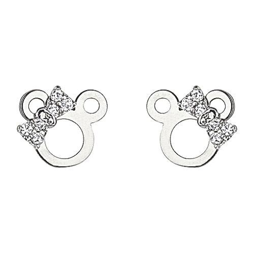 .925 Sterling Silver Minnie Mouse Children Screwback Earring Kids & Women in Jewelry & Watches, Children's Jewelry, Earrings | eBay