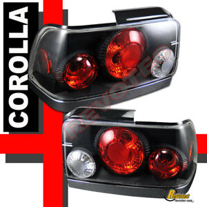 Details about 93-97 TOYOTA COROLLA TAIL LIGHTS TRUNK LAMP 94 95 96