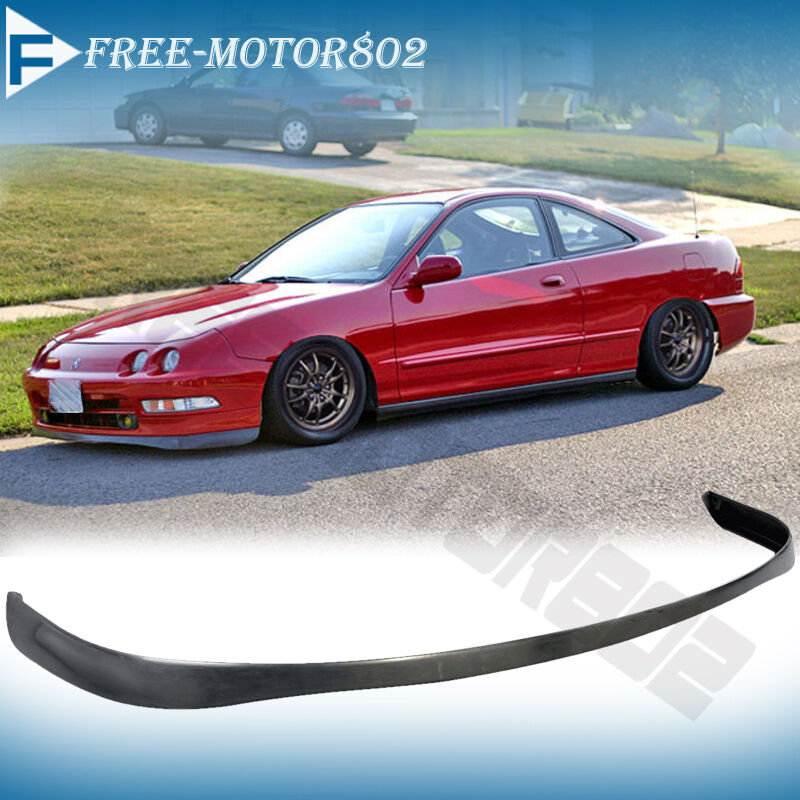 fits 94 97 acura integra pu front bumper lip spoiler si. Black Bedroom Furniture Sets. Home Design Ideas