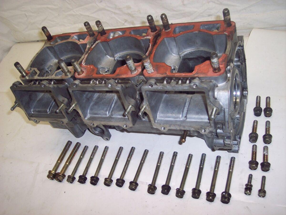 96 Polaris 680 Ultra SP SKS RMK XCR Triple Motor Engine Crank Case Crankcase