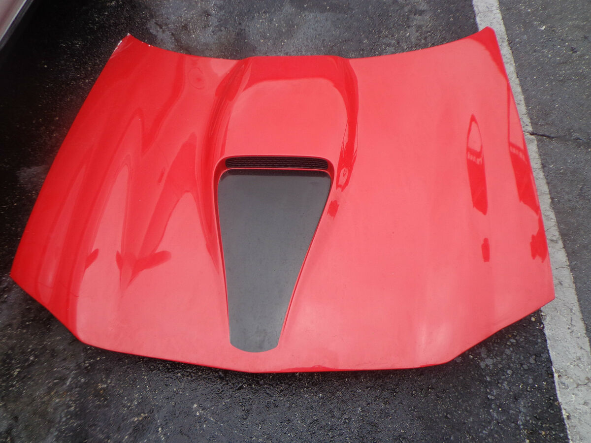 98 02 Camaro SS RAM Air Hood 99 00 01 with Scoop Intake Fiberglass Factory