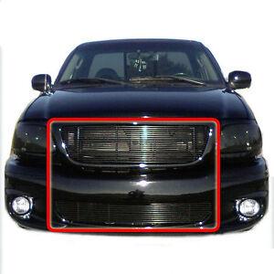 99 03 ford f150 lightning black combo up low billet grille. Black Bedroom Furniture Sets. Home Design Ideas