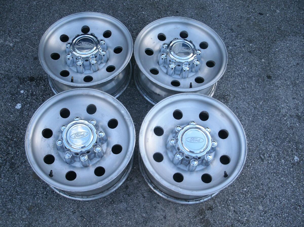 04 16 Ford F250 F350 Excursion 16 OEM Wheels Factory Rims 8 lug Alloy