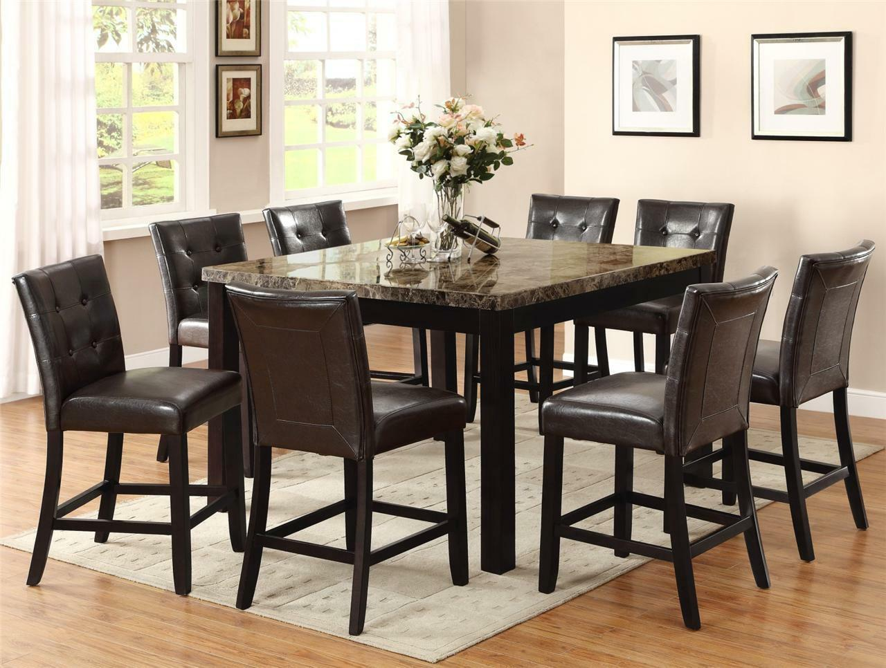 Height Pub Table Sets Counter Height Dining Room Table Chairs