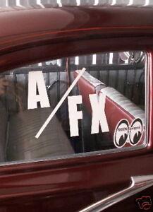 Drag Racing Car Window Decals