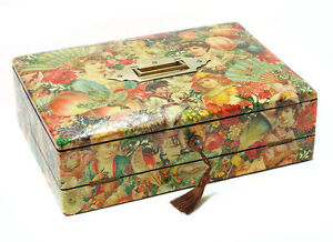 A-Fine-Edwardian-Antique-Lap-Desk-Writing-Slope-with-Decoupage-Love-Mottos