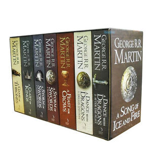 game of thrones 5 book box set