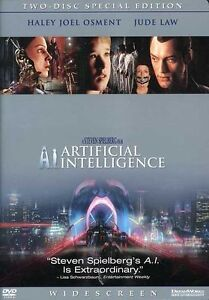 A.I. Artificial Intelligence (DVD, 2002,...