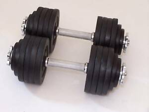 A Set of 52.5 LBS Adjustable Dumbbells Total 105 lbs in Sporting Goods, Exercise & Fitness, Gym, Workout & Yoga | eBay