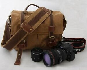 A9120-DDH-2-Canvas-DSLR-Camera-Bag-Shoulder-Messenger-Bag-For-Sony-Canon-Nikon