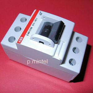 abb hauptschalter schalter e463 3kb 63a 3 polig ebay. Black Bedroom Furniture Sets. Home Design Ideas