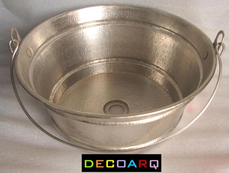 Bucket Vessel Sink : ROLLED RIM: .5
