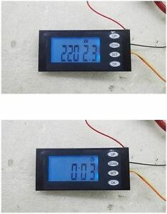 AC-100A-Digital-LED-power-meter-Voltage-KWh-time-watt-Voltmeter-Ammeter-With-CT