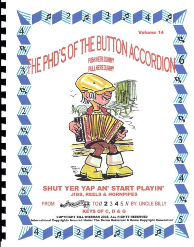 """ACCORDION BOOK , EASY PLAY BY #S WITH CD, LIVELY JIGS, REELS & HORNPIPES"""" in Musical Instruments & Gear, Accordion & Concertina 