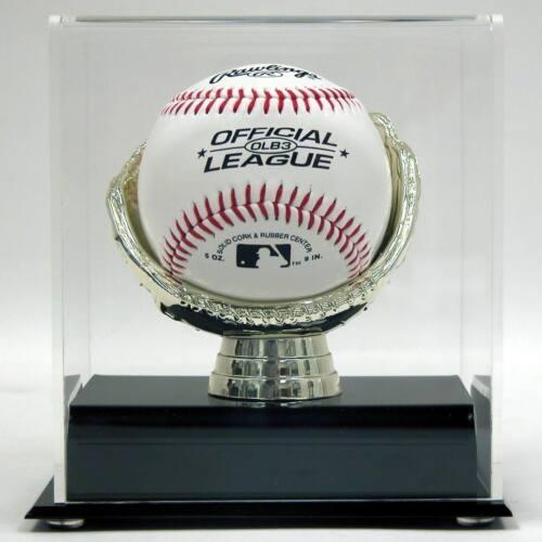 ACRYLIC GOLD GLOVE BASEBALL DISPLAY CASE HOLDER - AD13 in Sports Mem, Cards & Fan Shop, Autographs-Original, Baseball-MLB | eBay