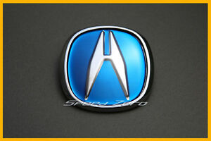 2004 Acura  Type on Acura Jdm Blue Hood Trunk Emblem Logo Badge Integra Rsx Type R Tsx Tl