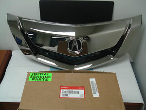 2009 Acura on Details About Acura Oem Factory Chrome Grill 2009 2011 Tl