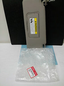 Acura Tempe on Acura Factory Drivers Side Sun Visor 2007 2012 Rdx Gray   Ebay
