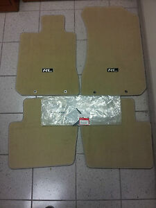 2008 Acura on Details About Acura Oem Factory Floor Mat Set 2005 2008 Rl Ivory