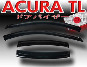 2005 Acura Review on Acura 2006 On Acura Tl 4 Door Sedan 2005 2006 Window Side Visors Rain