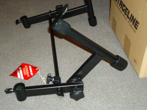 ADD ON A ADJUSTABLE TIER DOUBLE KEYBOARD SAMPLER STAND ADDAPTER X STAND 2ND TWO in Musical Instruments & Gear, Equipment, Stands | eBay