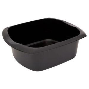 Large Plastic Sink : ADDIS PLASTIC RECTANGULAR LARGE WASHING UP BOWL / BASIN - BLACK 505591 ...