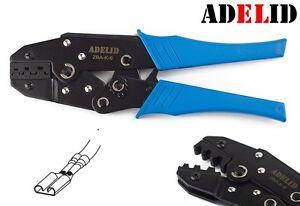 adelid crimpzange f r unisolierte kabelschuhe von 0 5 bis. Black Bedroom Furniture Sets. Home Design Ideas