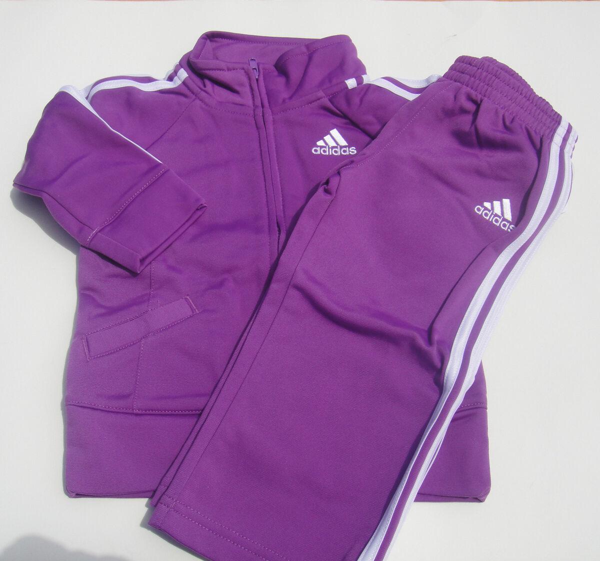 Adidas Girls Track Suit 19207 Track Jacket Top Pantalones 18 Dark Purple 501 Warm Up 12 18 3183139 - immunitetfolie.website