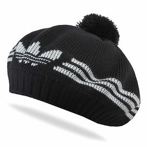 ADIDAS-ORIGINALS-STRICKMUTZE-BEANIE-WINTER-SKI-BERET-FLEECE-FUTTER-FRENCH-BASKEN