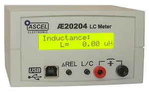 AE20204-LC-Meter-Komplett-Bausatz-mit-RS232-USB-Gehaeuse-RCL-RLC-LCR-CRL-LRC-CLR