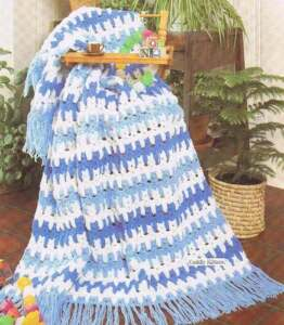 Crochet Patterns Kittens In A Row : AFGHAN BOOK 55 QUICK CROCHET KNIT PATTERNS CATS IN A ROW eBay