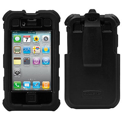 AGF Ballistic HC Rugged Hard core defender Case for iPhone 4 4S, black + clip in Cell Phones & Accessories, Cell Phone Accessories, Cases, Covers & Skins | eBay