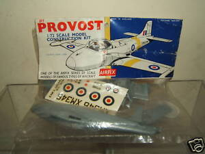 AIRFIX-JET-PROVOST-T-Mk-3-UNMADE-YELLOW-STRIPE-BAG-KIT